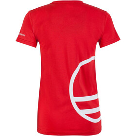 Wild Country Logo Camiseta Mujer, rojo